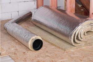 Air duct sealing and insulation